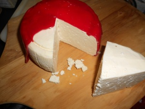 A picture of the cheddar, just to show off
