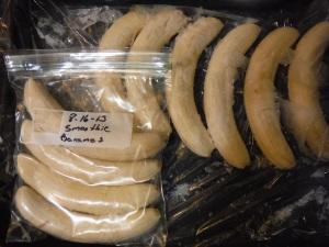 banana smoothie packs